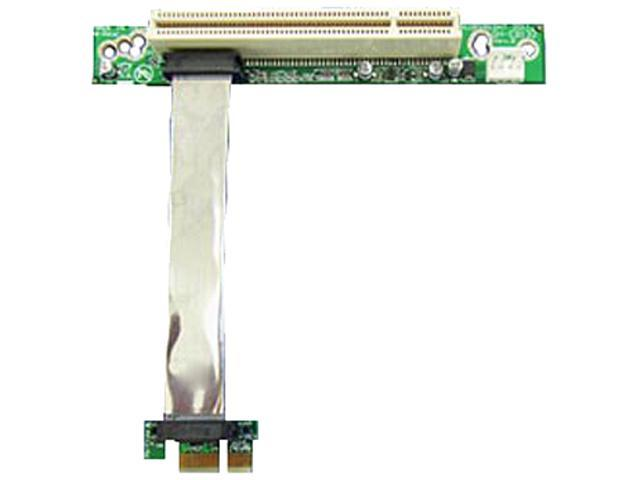 iStarUSA DD-631-CX PCIe x1 to PCI Riser Card with Various Length EMI Shielded Ribbon Cable