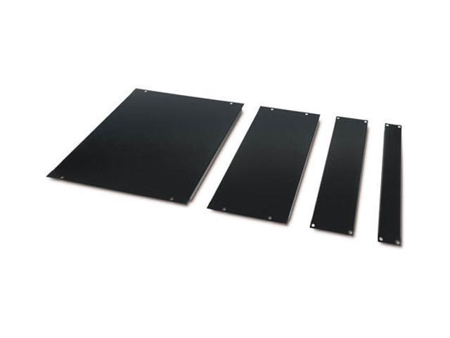 APC AR8101BLK Airflow Management Blanking Panel Kit (1U, 2U, 4U, 8U) Black