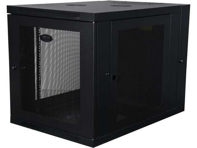 Tripp Lite 12U Wall-Mount Rack Enclosure Cabinet, Hinged Back, Server-Depth (SRW12US33)