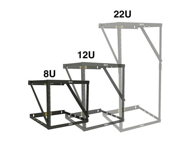 Tripp Lite Wall Mount 2 Post Open Frame Rack 8u 12u