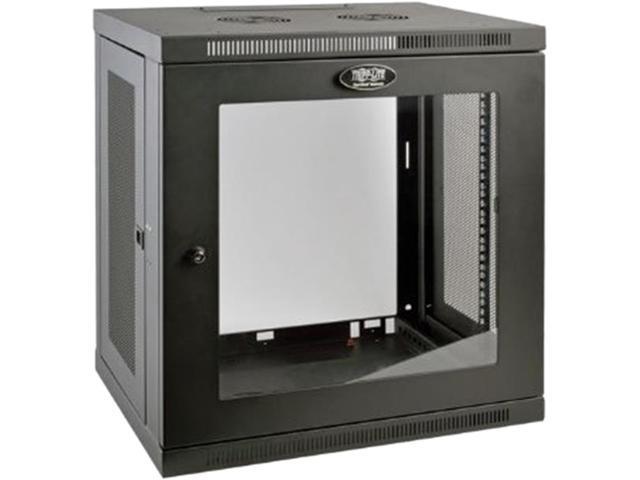 Tripp Lite 12U Wall Mount Rack Enclosure Server Cabinet w/ Glass Front Door
