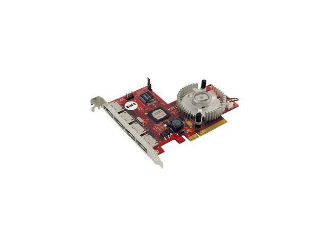 Addonics ADSA3GPX8-4E PCI-Express x8 SATA II (3.0Gb/s) 4 Port eSATA II RAID Controller
