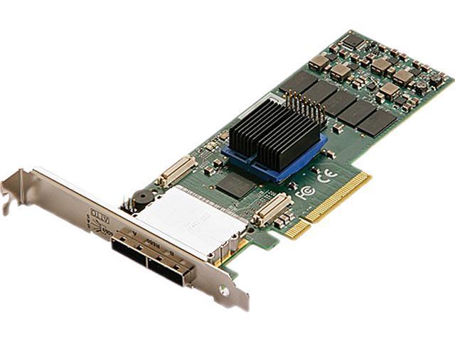 ATTO ExpressSAS R608 ESAS-R608-000 PCI-Express 2.0 x8 Low Profile SATA / SAS 8-Port 6Gb/s RAID Adapter