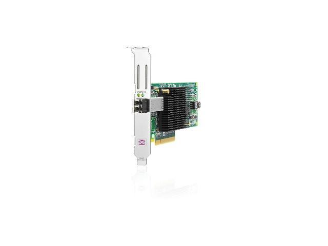 HP AJ762A PCI-Express 2.0 x8 Low Profile Ready Fibre Channel StorageWorks 81E Fibre Channel Host Bus Adapter