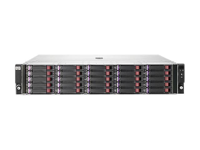 HP StorageWorks D2700 BK783A w/10 600GB 6G SAS10K SFF Dual Port HDD 6TB Bundle