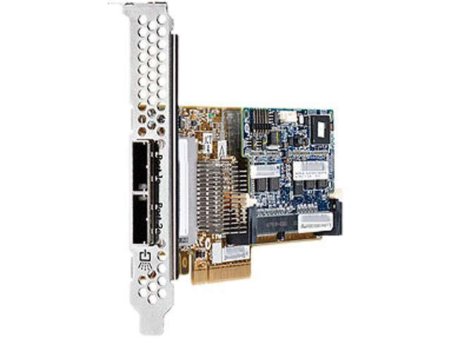 HP Smart Array P421/1GB FBWC 631673-B21 PCI-Express 3.0 x8 Low Profile SATA / SAS RAID Controller Card