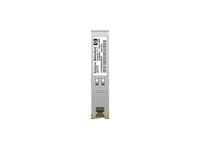 HP JD089B X120 1G SFP RJ45 Transceiver