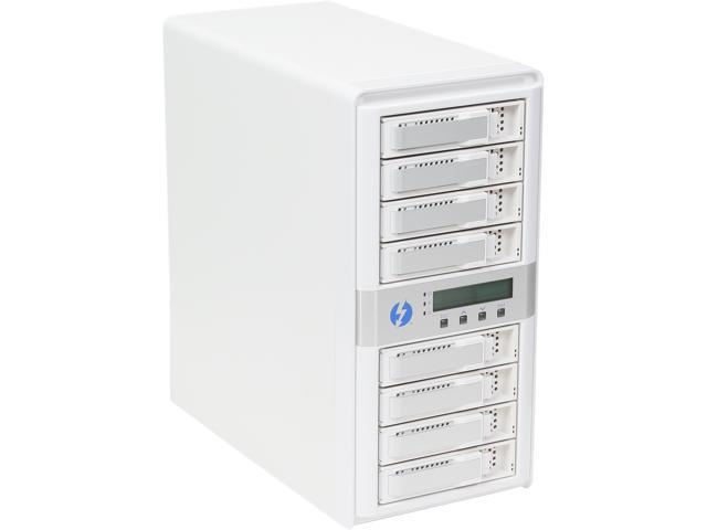 CineRAID CR-N8050-24T 8-Bay Dual Port Thunderbolt Tower w/ 24TB(8x3TB) Enterprise Class Drives