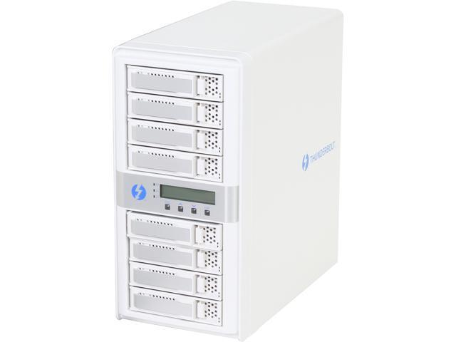 CineRAID CR-N8050-24T1 RAID 0/1/1E/3/5/6/10/30/50/60/Single Disk or JBOD 8 3.5