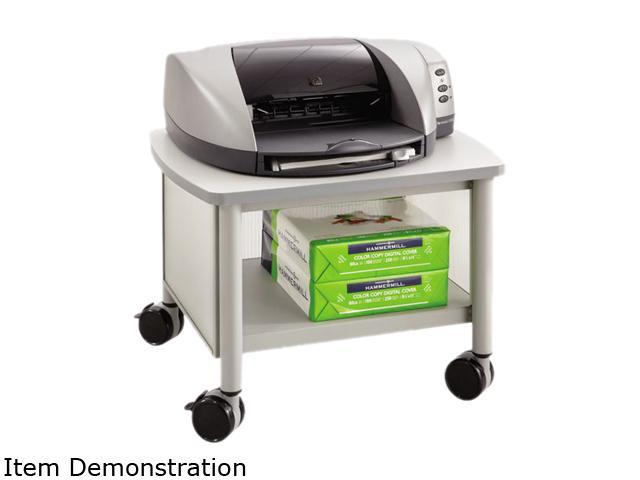 Safco 1862GR Impromptu Under Table Printer Stand 20.5Wx16.5Dx14.5H Gray