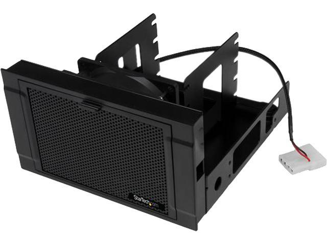 """StarTech 4x 2.5"""" SSD/HDD Mounting Bracket with Cooling Fan, Four-Drive Mounting Bracket for Desktop Computer or Server"""