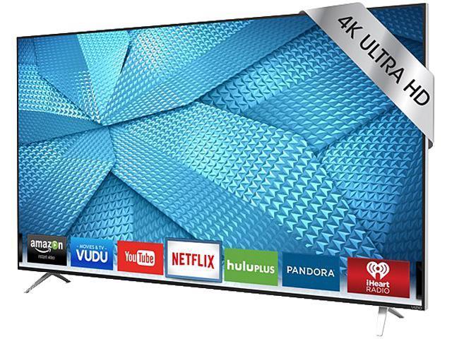 Vizio M49-C1 49-inch LED Smart 4K Ultra HDTV - 3840 x 2160 - 20,000,00:1 - 360 Clear Action Rate - V6 Six-Core Processor - Wi-Fi - HDMI