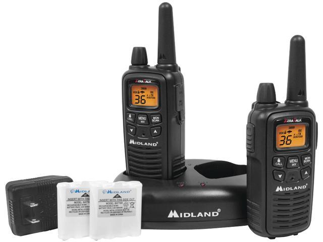 Midland LXT600VP3 GMRS 2-Way Radio - Up to 26 miles