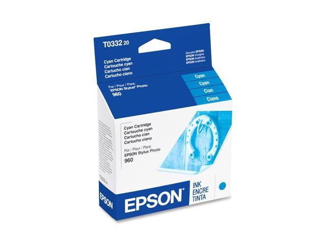 EPSON T033220 Cartridge For Epson Stylus Photo 960 Cyan