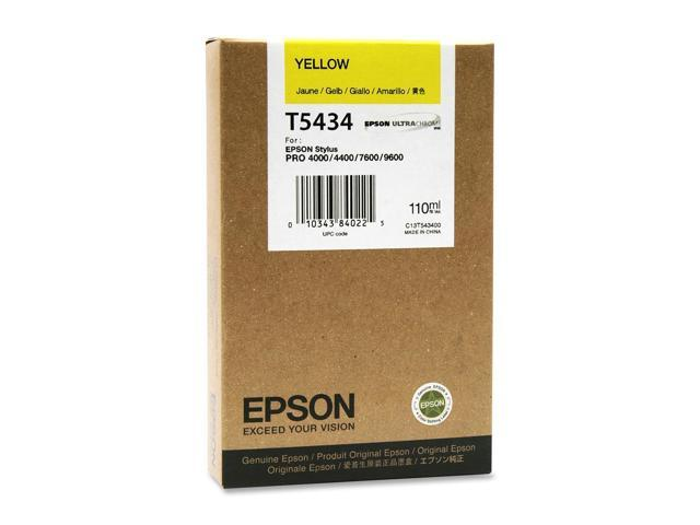 EPSON UltraChrome T543400 Cartridge Yellow