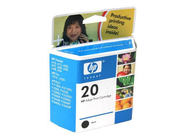 HP C6614DN 20 Large Ink Cartridge Black