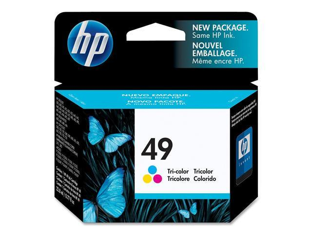 HP 49 Tri-color Ink Cartridge(51649A)