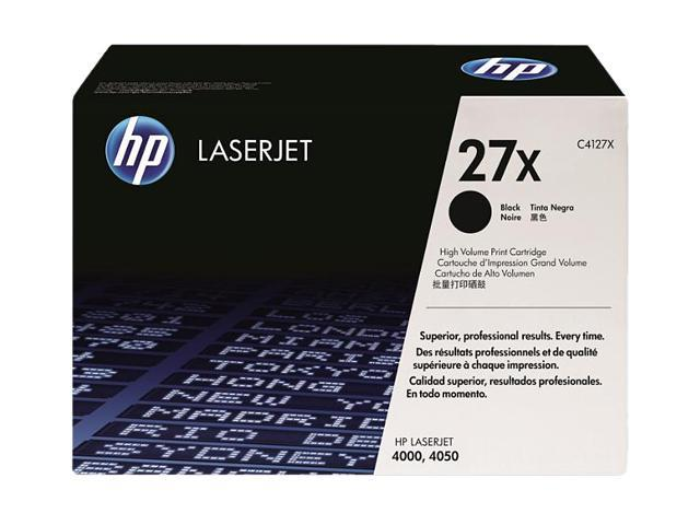 HP 27X Black LaserJet Toner Cartridge (C4127X)