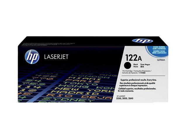 HP 122A Black LaserJet Toner Cartridge (Q3960A)