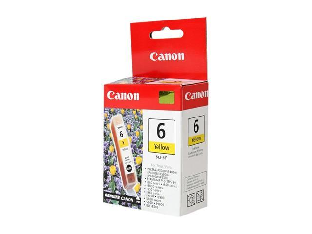 Canon BCI-6Y Cartridge For BJC-8200, i560 Series Yellow