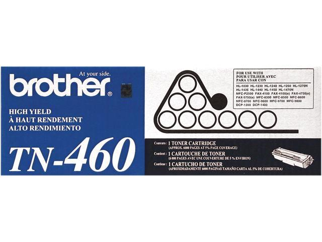 brother TN460 High Yield Toner Cartridge for DCP-1200, DCP-1400 Black