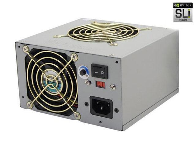 ENERMAX Whisper II EG565P-VE FMA(24P) 535W ATX12V Ver 2.0 SLI Certified CrossFire Ready Power Supply