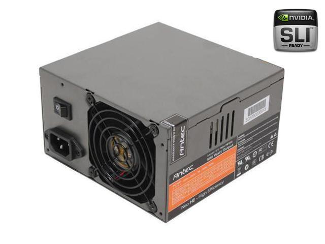 Antec Neo Power 500 500W ATX12V SLI Certified CrossFire Ready Modular Active PFC Power Supply