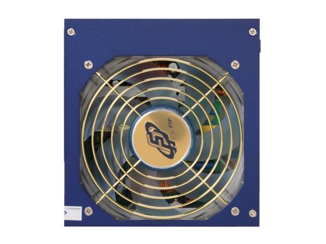 FSP Group FX600-GLN 600W ATX V2.2/EPS12V SLI Certified CrossFire Ready Active PFC Power Supply