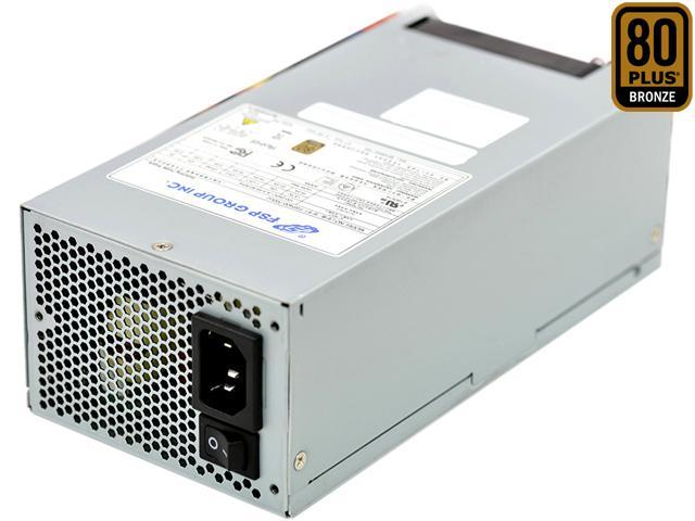FSP Group 400W ATX Power Supply Single 2U Size 80 PLUS Bronze Certified for Rack Mount Case (FSP400-702UJ)