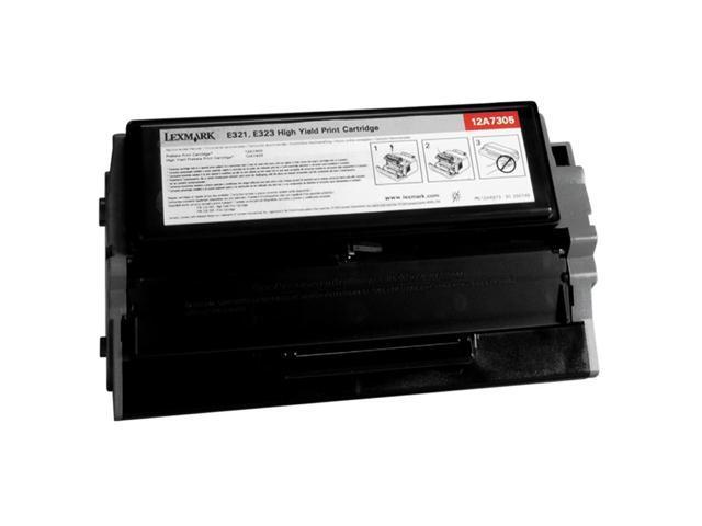 LEXMARK 12A7305 Cartridge For Lexmark E321 and E323 printers Black