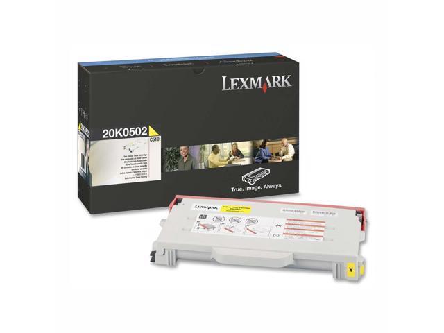 LEXMARK C510 20K0502 Toner Cartridge Yellow