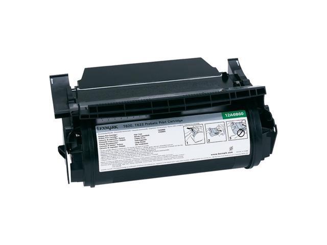 Lexmark 12A6830 T62X   Print Cartridge; black 10,000 page yield (Return Program)