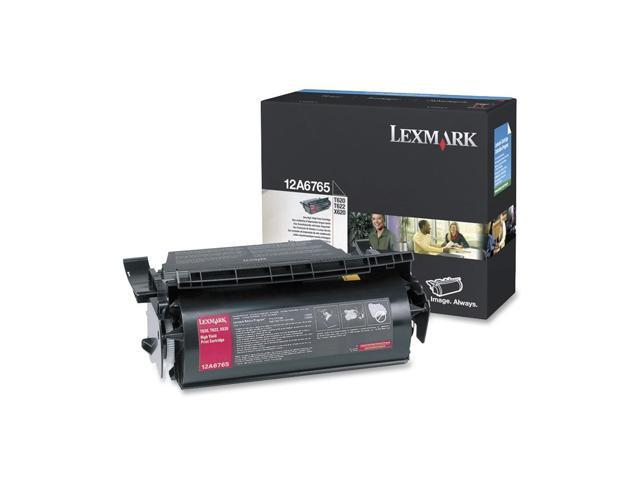 LEXMARK 12A6765 Cartridge Black