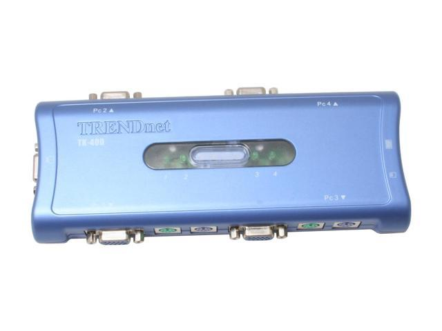 TRENDnet TK-400K KVM Switch Kit