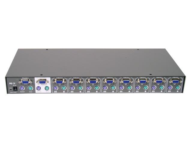 TRENDnet TK-802R 8-Port PS/2 Rack Mount KVM Switch w/ OSD