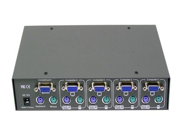 TRENDnet TK-401R 4-Port PS/2 Rack Mount KVM Switch