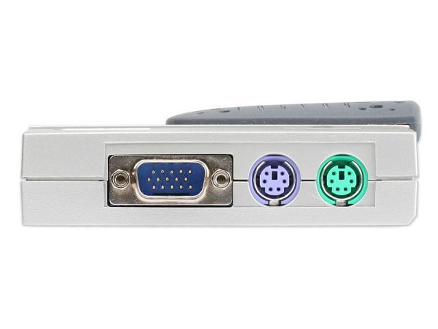 IOGEAR GCS12 Compact KVM Kit w/Cables