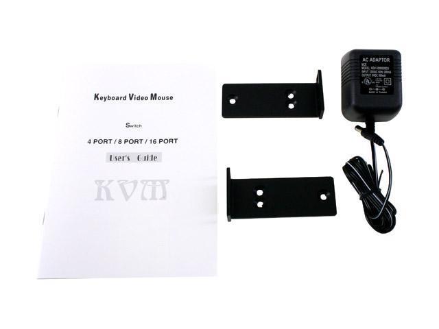 Zonet KVM3008 8 Port KVM Switch w/OSD
