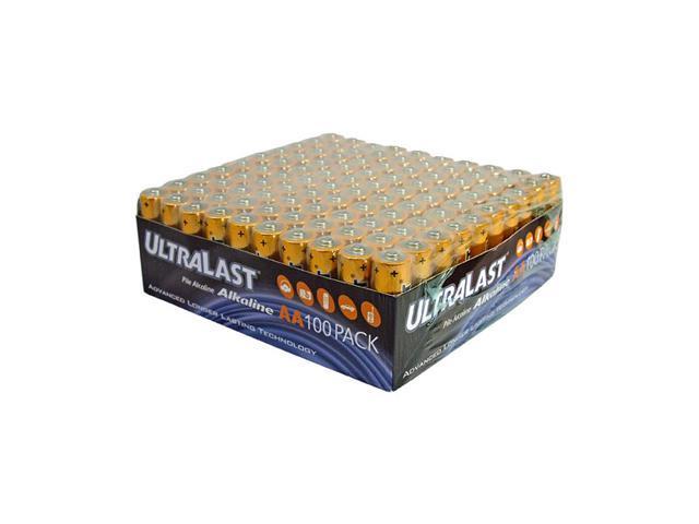 ULTRALAST ULA100AAB 100-pack AA Alkaline Batteries
