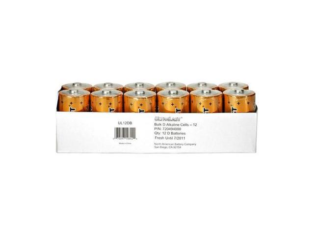 ULTRALAST UL12DB Batteries