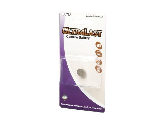 ULTRALAST UL76A 1-pack A76, LR44 Alkaline Coin Cell Batteries