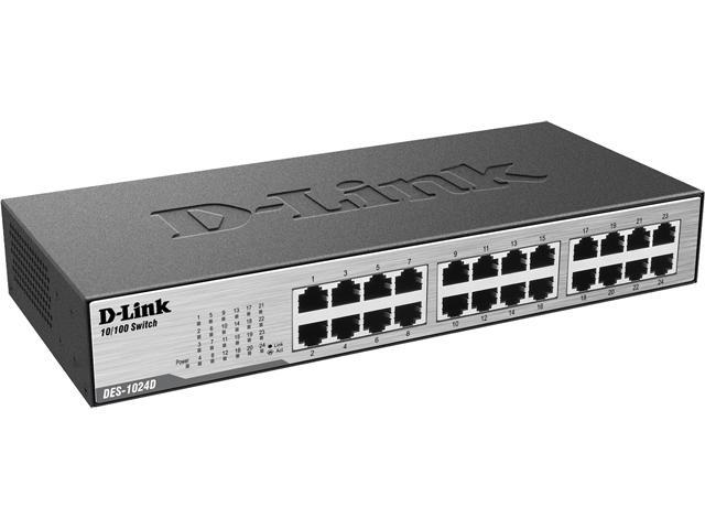 D-Link DES-1024D 24-Port Desktop/Rackmountable Switch