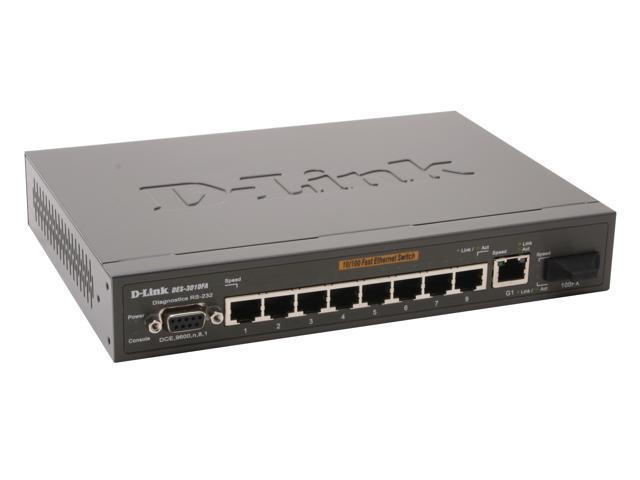 D-Link DES-3010FA Managed 10/100Mbps + 1000Mbps Managed Switch