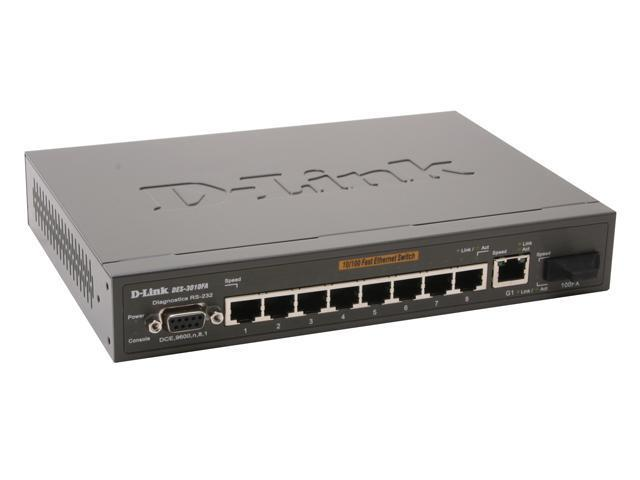 D-Link DES-3010FA Managed 10/100Mbps + 1000Mbps Managed Switch