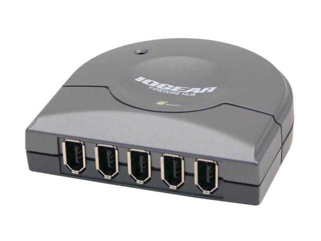 IOGEAR GFH610 6-Port Compact FireWire Hub