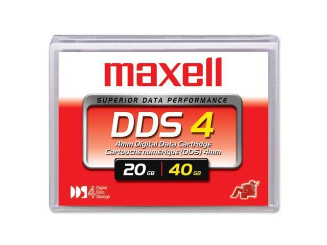 maxell 200028 20/40GB DDS-4 Tape Media 1 Pack