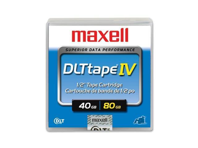 maxell 183270 40/80GB DLTtape IV Tape Media 1 Pack