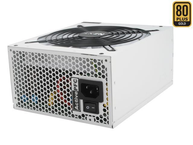 NZXT HALE90-750-M 750W ATX 12V v2.2, EPS 12V v2.91 80 PLUS GOLD Certified Modular Active PFC Power Supply