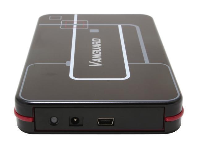 """ENERMAX Vanguard(EB206U-B) Aluminum 2.5"""" USB 2.0 External Enclosure"""