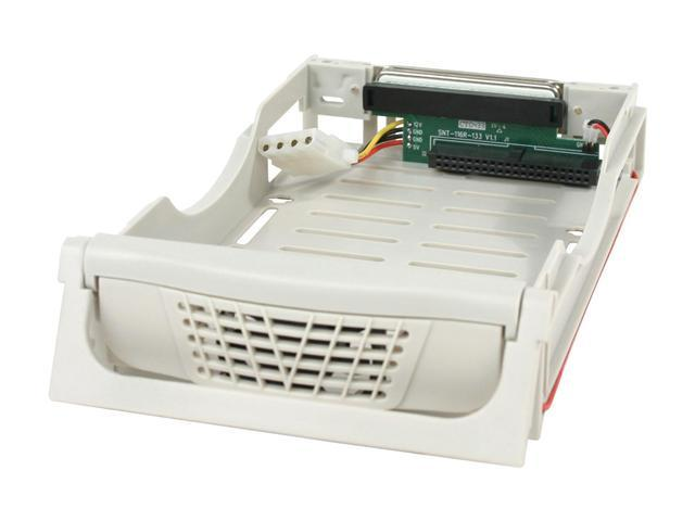 BYTECC SNT-1122 Plastic Mobile Rack For IDE Hard Drives W/ 2 Fan
